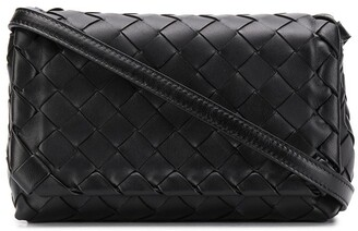 Bottega Veneta zipped Intrecciato shoulder bag