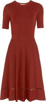 A.L.C. Tracy cutout stretch-knit dress