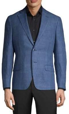 Michael Kors Plaid Notch Sportcoat