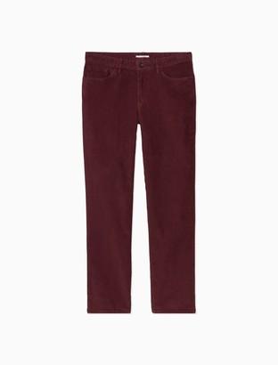 Calvin Klein Slim Fit Pigment-Dyed Corduroy 5-Pocket Pants