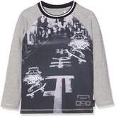 Noppies Baby U Tee Ls Lux Tekst T-Shirt