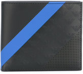 Emporio Armani contrast stripe wallet - men - Calf Leather - One Size