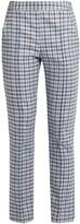 Rosie Assoulin Oboe slim-leg gingham trousers