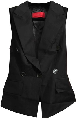 Carolina Herrera Black Wool Jacket for Women