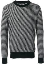 Maison Margiela striped jumper - men - Wool - S