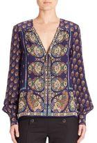Nanette Lepore Bohemia Silk Blouse