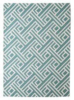 Threshold Indoor Outdoor Flatweave Area Rug Blue