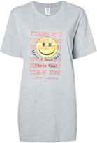 Rosie Assoulin smiley face t-shirt - women - Cotton - M