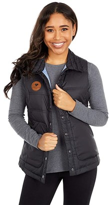Obermeyer Mila Down Vest (Black) Women's Clothing