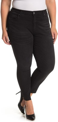 KUT from the Kloth Donna High Rise Ankle Skinny Jeans (Plus Size)