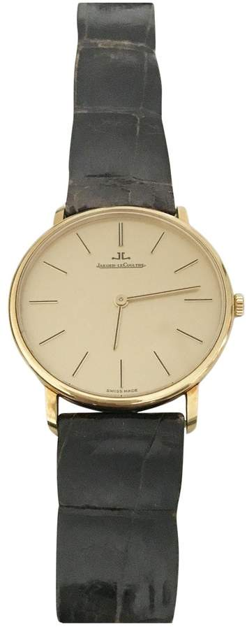 Jaeger-LeCoultre Jaeger Lecoultre Vintage Master Ultra Thin Brown Yellow gold Watches
