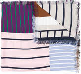 Pierre Louis Mascia Pierre-Louis Mascia striped scarf
