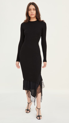 No.21 Long Sleeve Knit / Slip Dress
