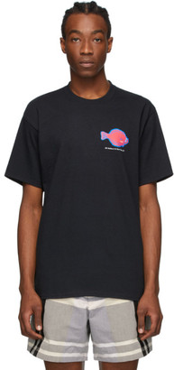 Noah NYC Black Flounder Shop T-Shirt