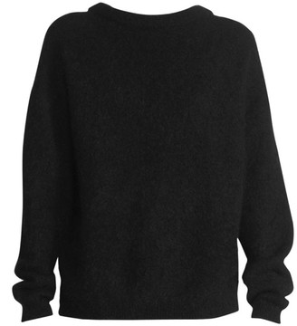 Acne Studios Mohair-Blend Crewneck Sweater