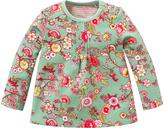 Oilily Green Floral Tinta Top - Infant Toddler & Girls