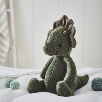 The White Company Jellycat Allenby Dinosaur Toy, Green, One Size