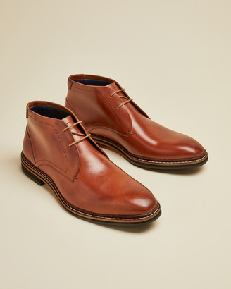 Ted Baker CRINT Leather desert boots