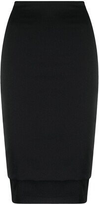 Dolce & Gabbana Pre-Owned 1990s High-Waisted Pencil Skirt