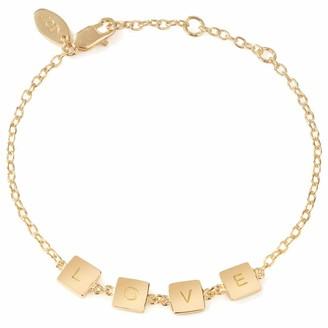 Neola Gold Love Bracelet