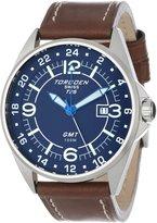 Torgoen Swiss Men's T25103 T25 GMT Stainless-Steel Date Aviation Watch