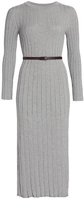 Fabiana Filippi Organic Cotton Knit Midi Dress