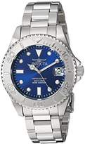 Invicta Women's 'Pro Diver' Quartz Stainless Steel Diving Watch, Color:Silver-Toned (Model: 24632)
