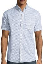 Lee Short-Sleeve Comfort Poplin Button-Front Shirt