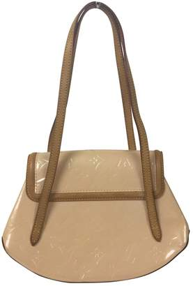 Louis Vuitton Beige Leather Handbags