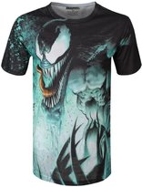 Marvel Men's Venom Splat Sublimated T-Shirt