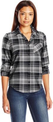 Pendleton Women's Petite Frankie Flannel Shirt