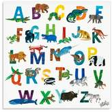 Eric Carle Oopsy Daisy Too The World of Boys A-Z Canvas Wall Art