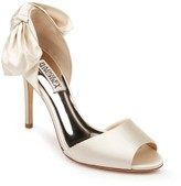 Badgley Mischka Collection Eugenie Bow d'Orsay Peep Toe Pump