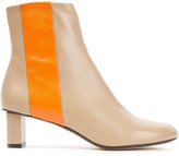 Thumbnail for your product : Joseph Avenue Two-tone Leather Ankle Boots
