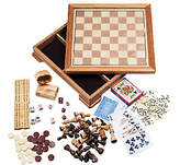 QVC Deluxe 7-in-1 Game Set