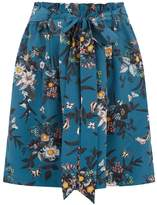 Oasis SHIPWRECKED PAPERBAG SKIRT