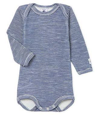 Petit Bateau Baby Boys' Body Ml_5067602 Shaping Bodysuit,68 (Size: )
