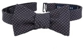 Ted Baker Men's Denim Cotton Bow Tie