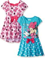 Disney Little Girls' 2 Pack Love Minnie Dresses