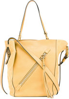 Chloé Myer tote bag - women - Calf Leather/Calf Suede/Cotton - One Size