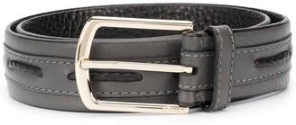 Brioni Woven-Detail Belt