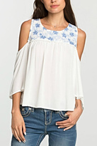 Miss Me Open Shoulder Top