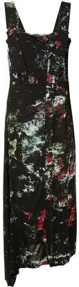 Yohji Yamamoto Floral Print Dress
