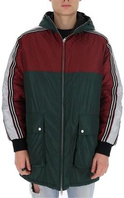 Gucci GG Jacquard Panelled Coat