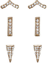 Jules Smith Designs WOMEN'S FRANKIE STUD SET-GOLD