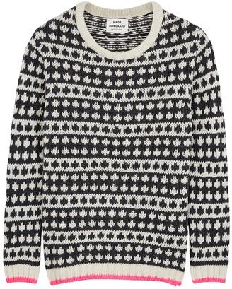Mads Norgaard Iceland Kimilla wool-blend jumper