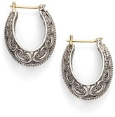 Konstantino Women's 'Penelope' Filigree Hoop Earrings