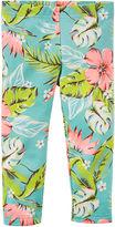 Carter's Tropical Capri Leggings - Preschool Girls 4-7