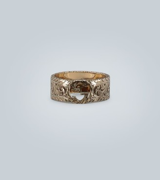 Gucci 18 carat gold GG ring