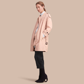 Burberry Ruched Showerproof Trench Coat